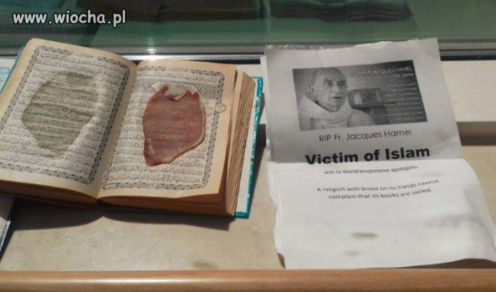 Plastry wieprzowiny w Koranie w szpitalu na Malcie