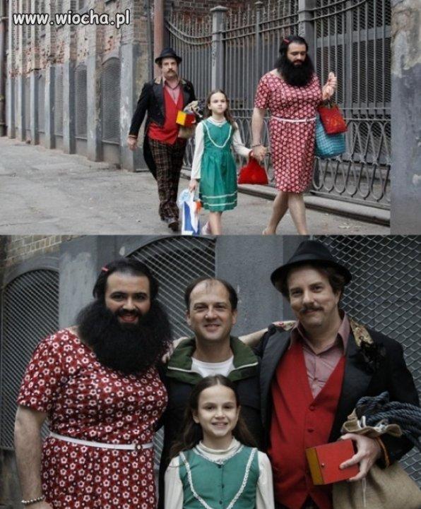 To jest ta nowoczesna, oświecona rodzina?