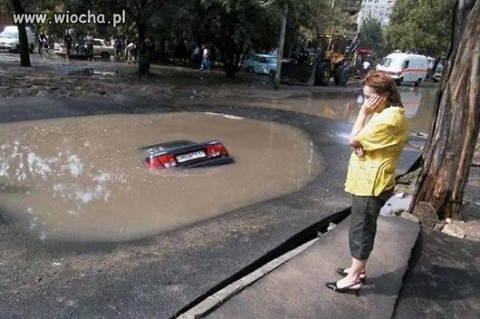 I się utopił