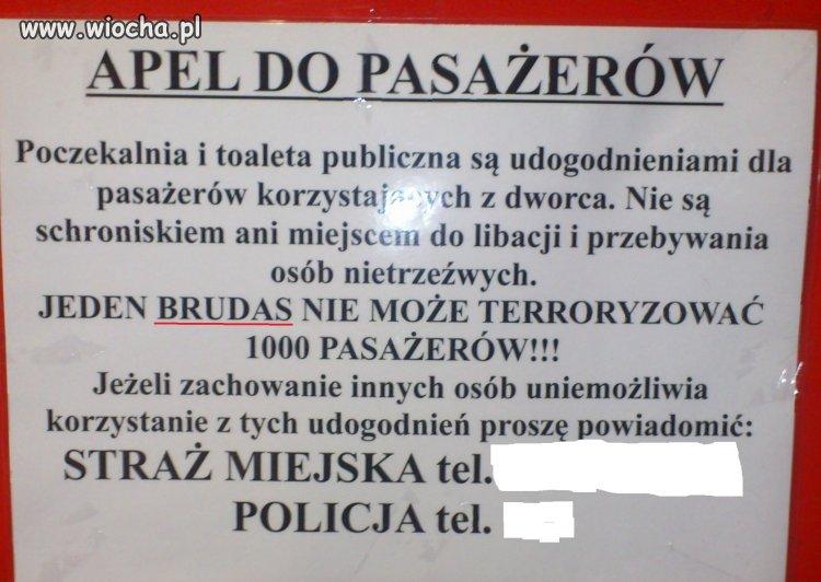 Dworzec Łęczna, Terrorysta