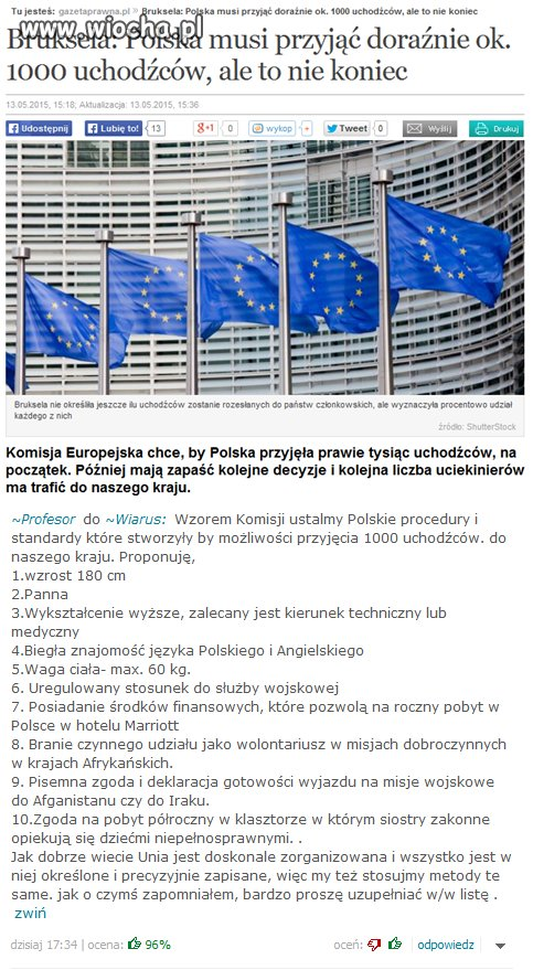 Polska musi... ale to nie koniec