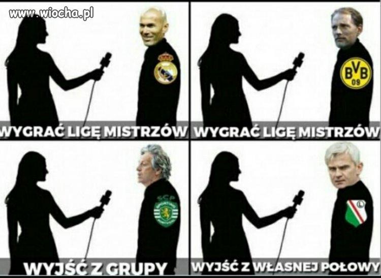 Jakie cele na ten sezon w Lidze Mistrzów?