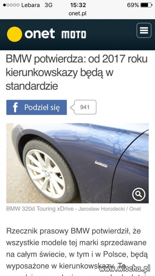 Dziękuję ci BMW