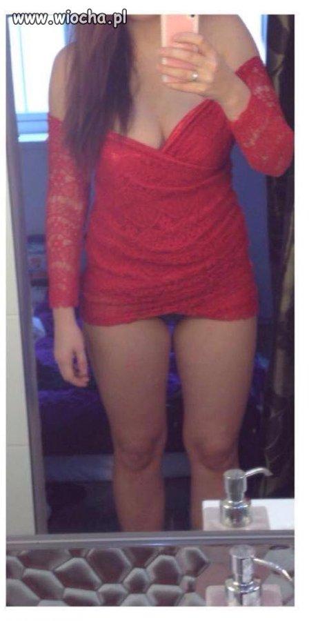 Sweet Focia w tak krótkiej sukience