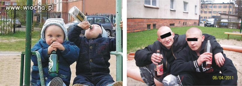 Dzieci rosną, flaszki się zmieniają...