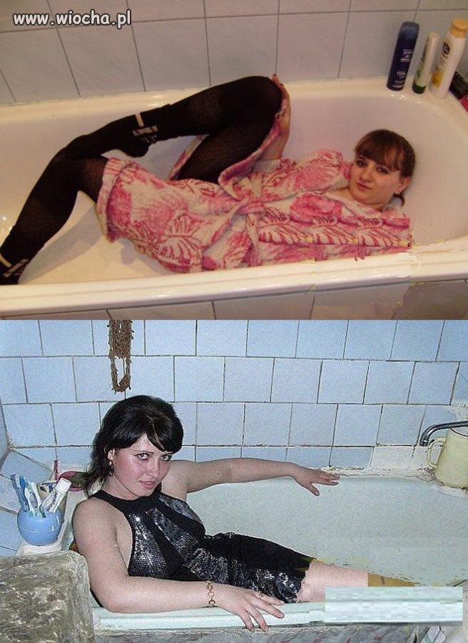 Łazienki to mają potencjał na robienie fotek.