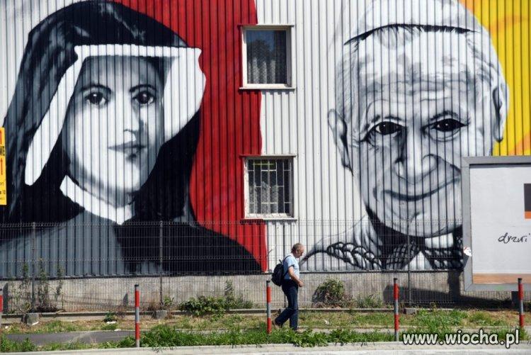 Mural w Krakowie...