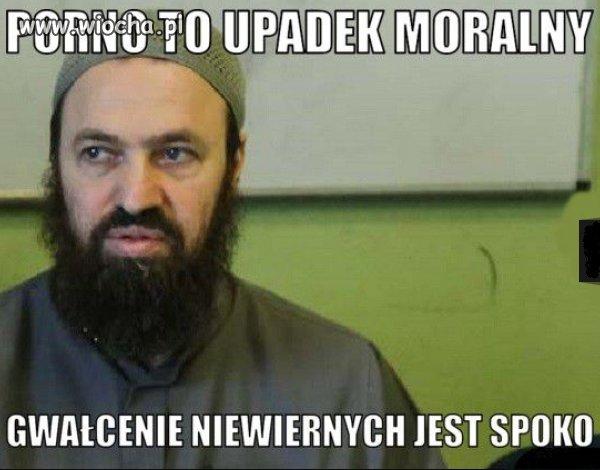 "Muzułmańska ""logika""."