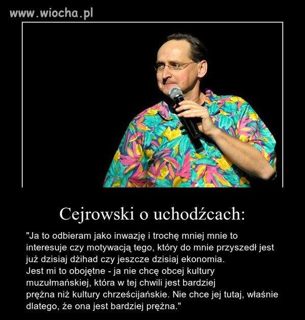 Wojciech Cejrowski mówi jak jest