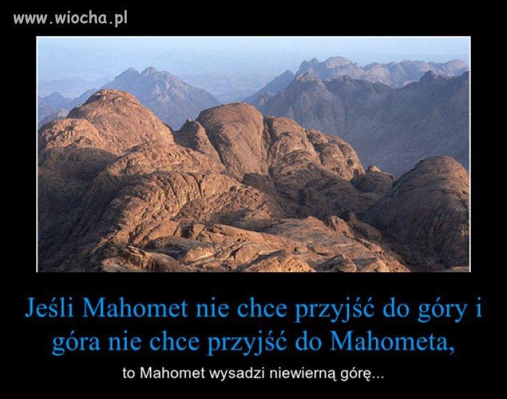 Czekaj, Mahomet