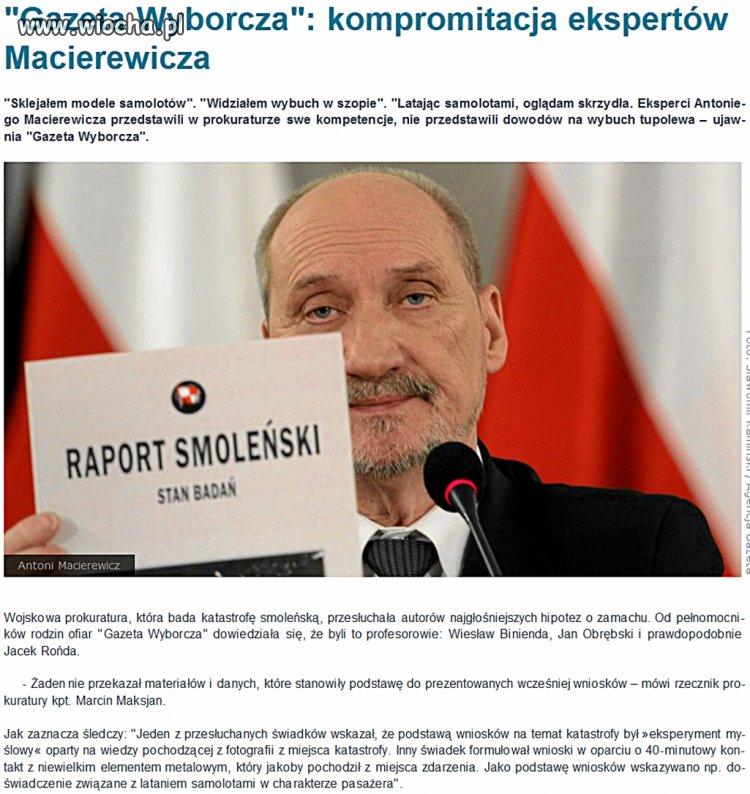 """""""Eksperci"""" Macierewicza..."""