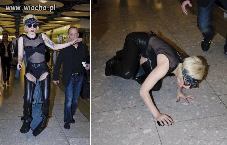 Lady Gaga ofiarą własnej ekstrawagancji.