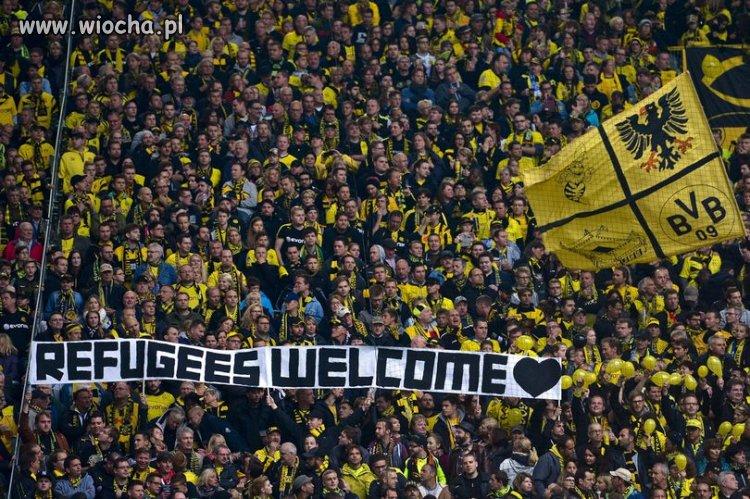 Borussia pozdrawia uchodzćów