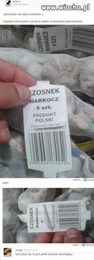 Polski czosnek