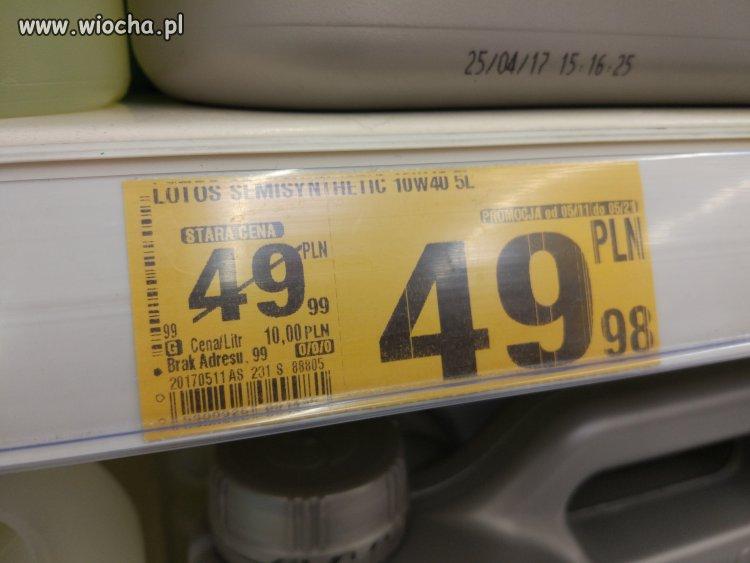 Ostra promocja w Auchan Wałbrzych
