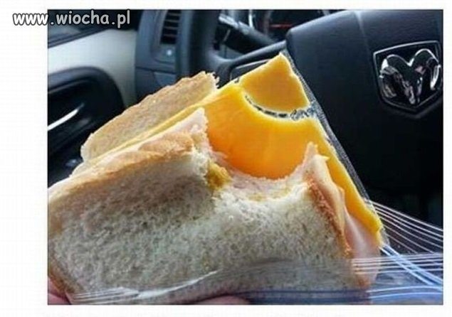 Moje kochanie zrobiło mi kanapkę do pracy