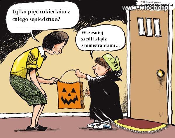 Halloween to nie nasza tradycja