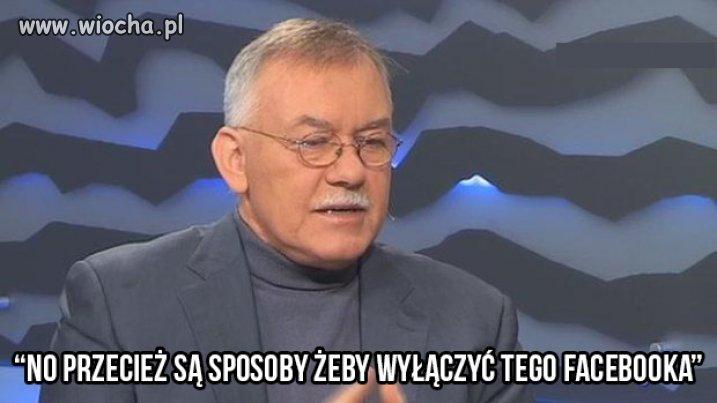 W dyskusji na Polsacie prof. Krzemiński ...