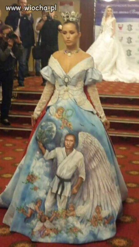 Suknia ślubna z boskim Władimirem