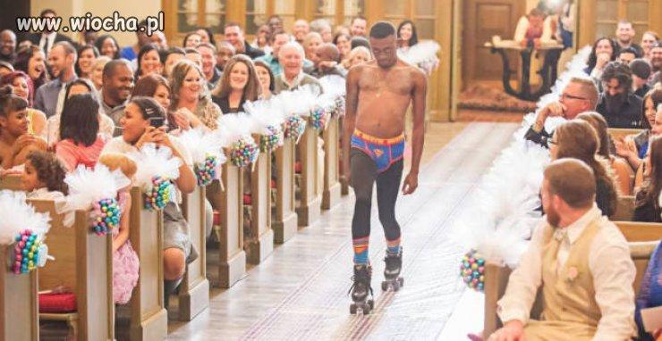 Ach, co to był za ślub...