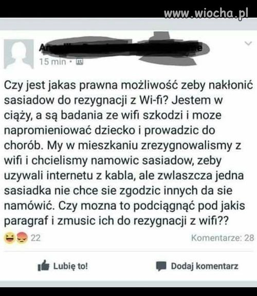 Szkodliwe Wi-Fi