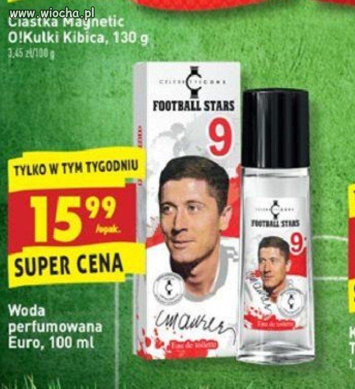 Perfumy Lewandowskiego w biedronce!