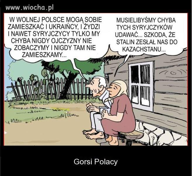 Gorsi Polacy