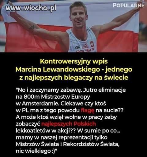 Polscy biegacze w odróżnieniu do piłkarzy odnoszą sukcesy