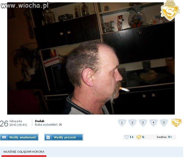 """""""WŁAŚNIE OGLĄDAM HORORA"""""""