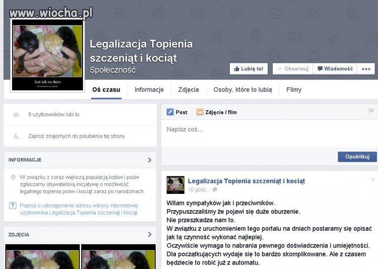 Nowa społeczność na facebooku