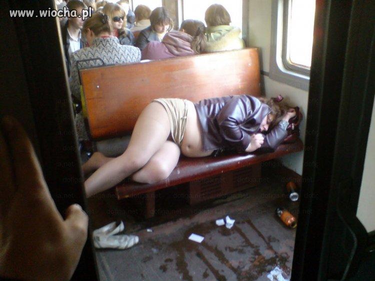 Tymczasem w pociągu