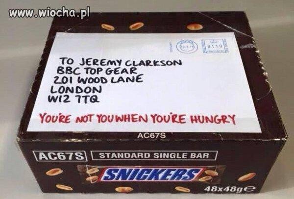 Głodny nie jesteś sobą