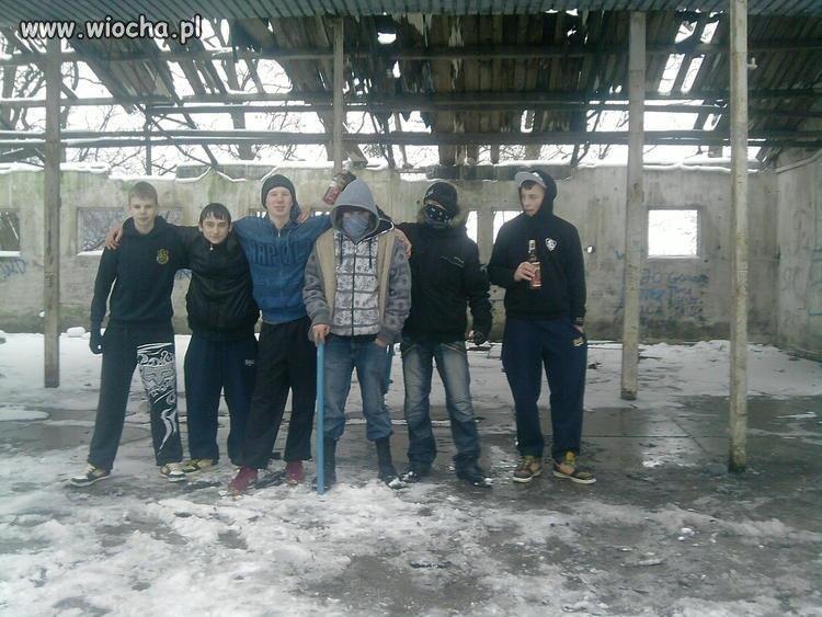 Wiejskie potyczki gangów...