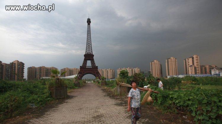 W Chinach powstała kopia Paryża