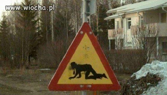 Z cyklu nowe znaki drogowe