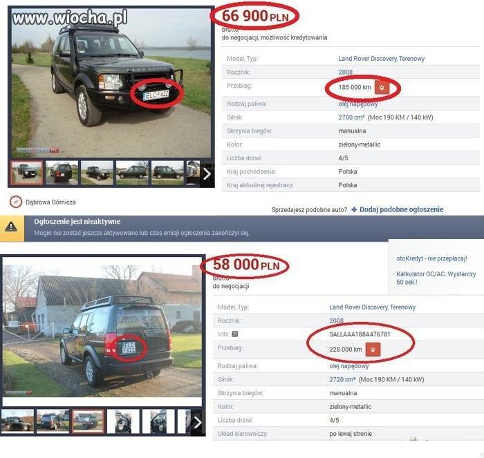 Uczciwy sprzedawca Land Rover Discovery