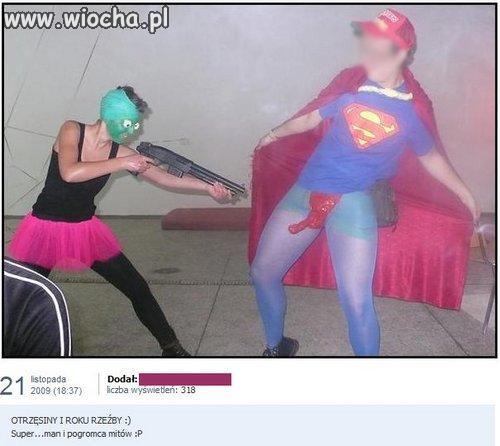 Superman i pogromca mitów