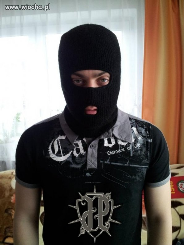 Strzeżcie się! Kolejny bandyta i morderca.