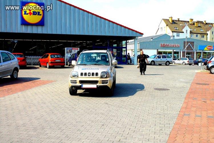 Profesjonalne parkowanie przez ochron�