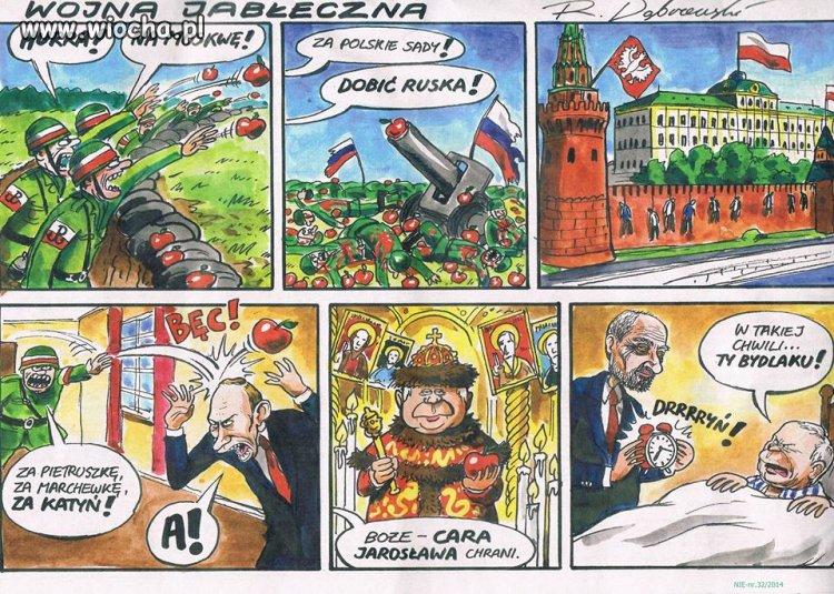 Wojna Jabłeczna czyli...