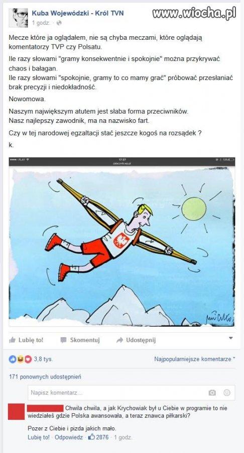 """Pan Wojewódzki taki """"znafca"""" piłkarski ..."""