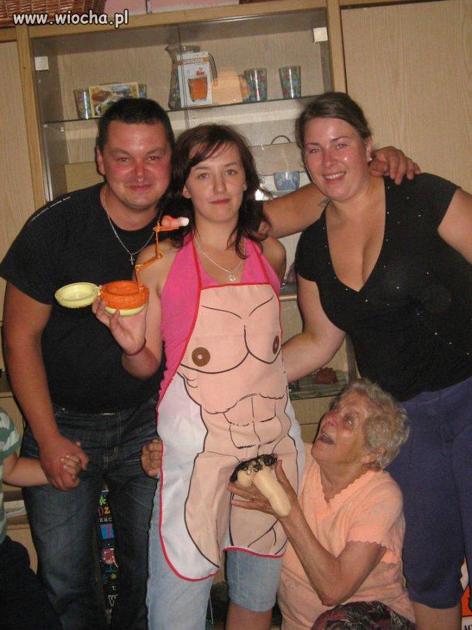 Właśnie tego babci