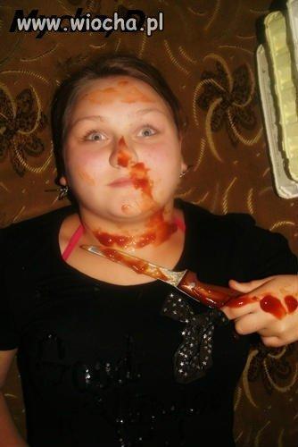 Lans na zab�jstwo i na ketchup