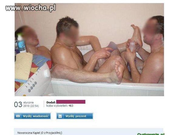 Noworoczna kąpiel