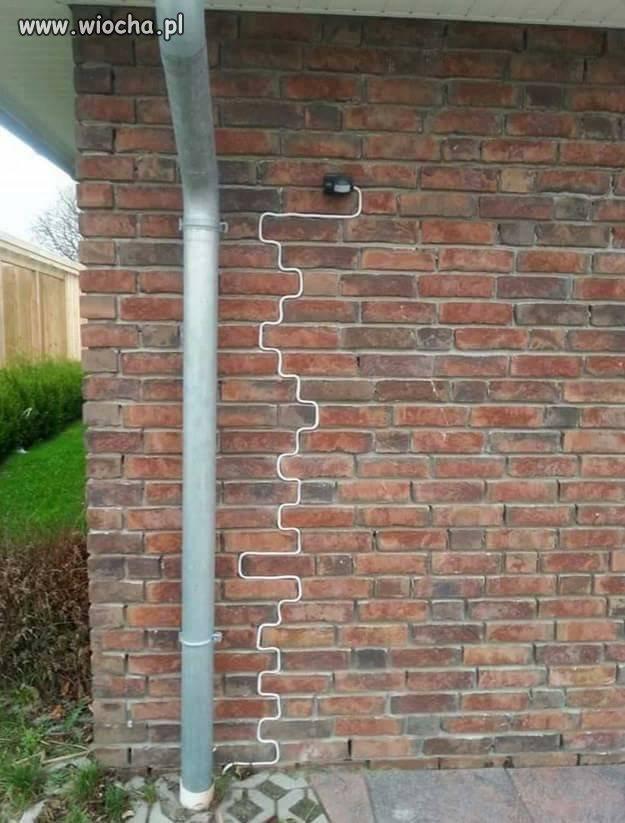 Ważne by dyskretnie przeprowadzić kabel