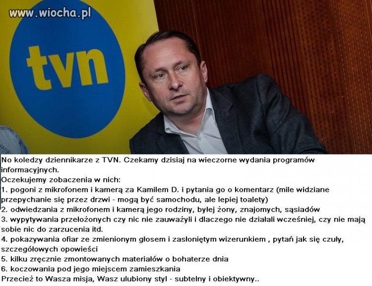Durczok zakończył dziś współpracę z TVN