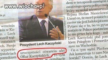 Ofiary Kaczyńskie czy Katyńskie,