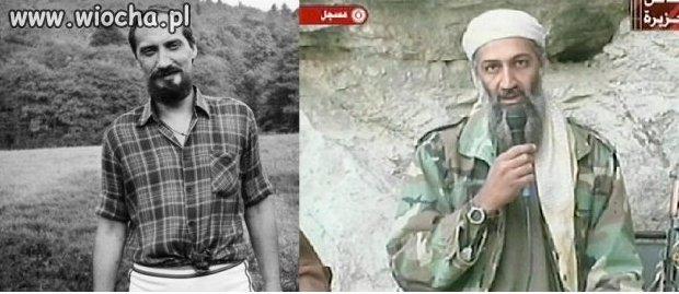 Osama Bin Laden kiedyś i ostatnie foto!
