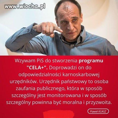 W pełni zgadzam się z Pawłem Kukizem w tej kwestii!