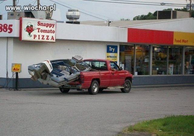 Odpowiedni pojazd do przewozu !